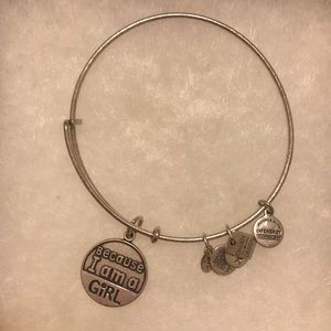 "Alex and Ani ""Because I Am A Girl"" Bracelet"